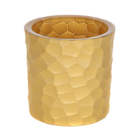 Altıncı Cadde Altın Kesme Vazo 10cm