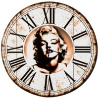 Vitale Marilyn Monroe Eskitme Duvar Saati