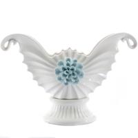 Vitale İnci Kabuğu Mavi Çiçekli Gondol