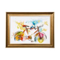 Vitale Renkagrenk Bisiklet Dekoratif Tablo
