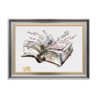 Vitale Kitap ve Formüller Dekoratif Tablo