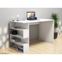 Hepsiburada Home Çalışma Masası - Beyaz/Beyaz