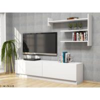 Martin Tv Ünitesi - Beyaz/Beyaz