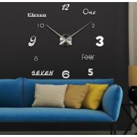 Dıy Clock Yeni Nesil 3D Duvar Saati Model 14