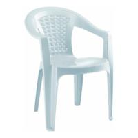 Gardelia Lux 10 Adet Plastik Koltuk Sandalye Takımı 1.Sınıf Beyaz