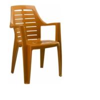 Gardelia Elit 1 Adet Plastik Koltuk Sandalye Takımı 1.Sınıf Kahve