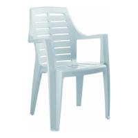 Gardelia Elit 1 Adet Plastik Koltuk Sandalye Takımı 1.Sınıf Beyaz