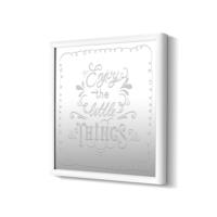 The Mia Dekoratif Ayna Things 68 * 68 Cm - Beyaz