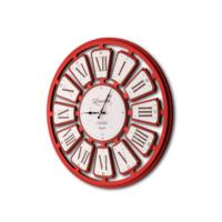 The Mia Duvar Saati - Lescelles Kırmızı