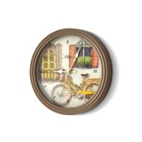 The Mia Duvar Saati - Mutfak Bisiklet Kahve