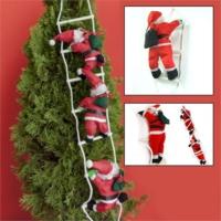 Wildlebend Merdivene Tırmanan Üçlü Noel Baba