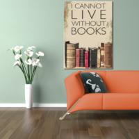 Hepsiburada Home Lıve Books Kanvas Tablo