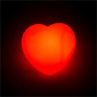 Dekoratif Kırmızı Kalp Led Işık