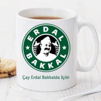 Soppigo Çay Erdal Bakkalda İçilir Kişiye Özel Kupa TK240