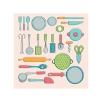Mutfak Gereçleri-1 Bulaşık Makinesi Sticker