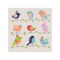 Kuşlar Bulaşık Makinesi Sticker