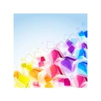 Renkli Şekerler Bulaşık Makinesi Sticker