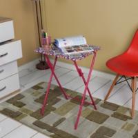 Adore Handy Mate Spring Katlanabilir Servis Masası - Kırmızı