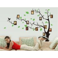 Ev Dekorasyonu Fotoğraf Çerçeveli Ağaç Kendinden Yapışkanlı PVC Sticker Duvar Dekor