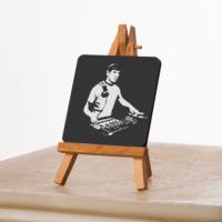 KFBiMilyon DJ Spock Tasarımlı MDF Masa Dekoru