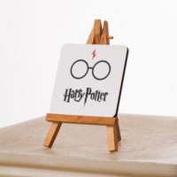 KFBiMilyon Harry Potter Gözlüğü Tasarımlı MDF Masa Dekoru