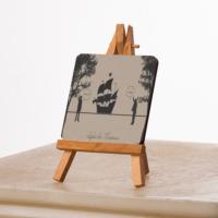 KFBiMilyon Leyla ile Mecnun İsmail Abi Hoop Tasarımlı MDF Masa Dekoru