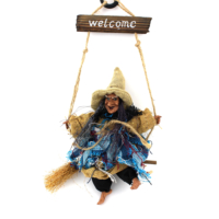 Welcome Cadı Duvar Ve Kapı Süsü