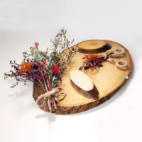 Alisveristime Söz, Nişan Tepsisi (Çiçekli Kütük Model) 30cm