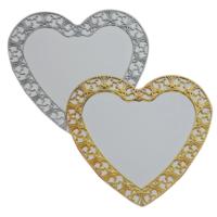 Tahtakale Toptancısı Aynalı Sade Söz Ve Nişantepsisi Kalp Atın/Gümüş