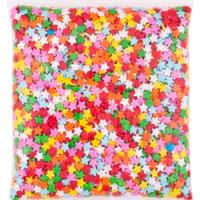 Tahtakale Toptancısı Şeker Bonibon Karışık Renk Yıldız Modeli (1 Kg)