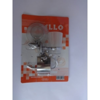 Bello 3'lü Set (Diş Fırçalık + Sabunluk + Kapalı Wc Kağıtlık)
