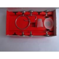 Bello Kutu Set Lüx Metal Banyo Aksesuarları 5 Parça ( Diş Fırçalık + Sabunluk + Açık Wc Kağıtlık + Yuvarlak Havluluk + Etejer )