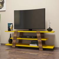 Variant Flower Tv Ünitesi Ceviz - Sarı