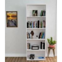 Ofisbazaar 5 Raflı Kitaplık Beyaz