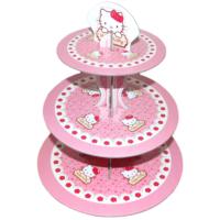 Hello Kitty Karton Cupcake Standı (30 x 35 cm)