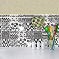 Dekorjinal Home085 24'Lü Fayans Sticker (Home085)
