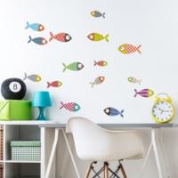 DekorLoft Şirin Balıklar Çocuk Odası Duvar Sticker CS-310