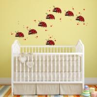 DekorLoft Uğur Böceği Çocuk Odası Duvar Sticker CS-331