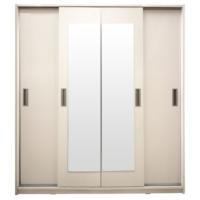 Jadel 812331 Dort Kapı Surgulu Beyaz Gardrop