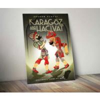 Javvuz Hacivat ve Karagöz - Dekoratif Metal Plaka