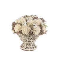 Primanova Dekoratif Çiçek Hasır Sepet D-D70065