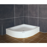 Shower Oval Duş Teknesi (Panelli) 75*75