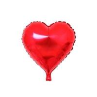 Balon Evi Kırmızı Kalp Folyo Balon 45 Cm