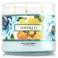 Bath And Body Works Sundress White Barn Büyük Boy Mum 411 Gr