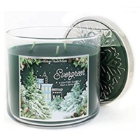 Bath And Body Works Evergreen Scented Candle Mum 411 Gr