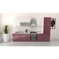 Decormet Lotus Plus Mutfak Dolabı 260 Cm - High Gloss 60 Cm Boy Modül