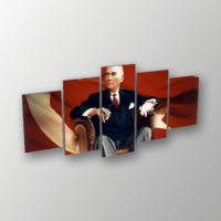 Printix Mustafa Kemal Atatürk Dekoratif Mdf Tablo