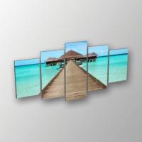 Printix Maldivler Dekoratif Mdf Tablo