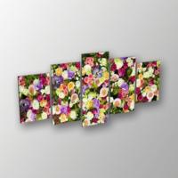 Printix Çiçek Bahçesi Dekoratif Mdf Tablo