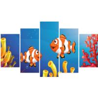 Printix Kayıp Balık Nemo Dekoratif Mdf Tablo